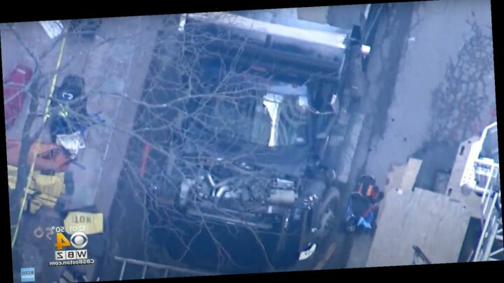 2 Men Killed After Being Struck by Truck and Falling into a Trench at Boston Construction Site