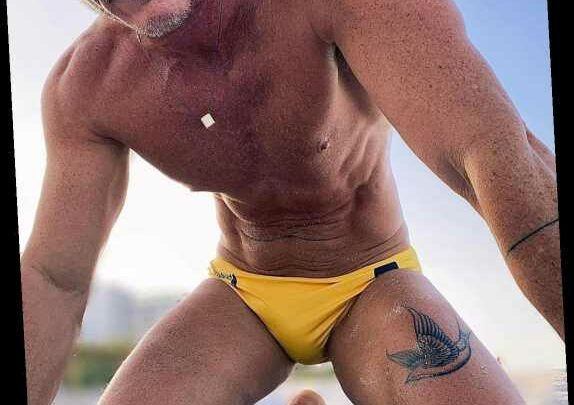 Luke Evans Shows Off His New Leg Tattoo in a Steamy Speedo Selfie