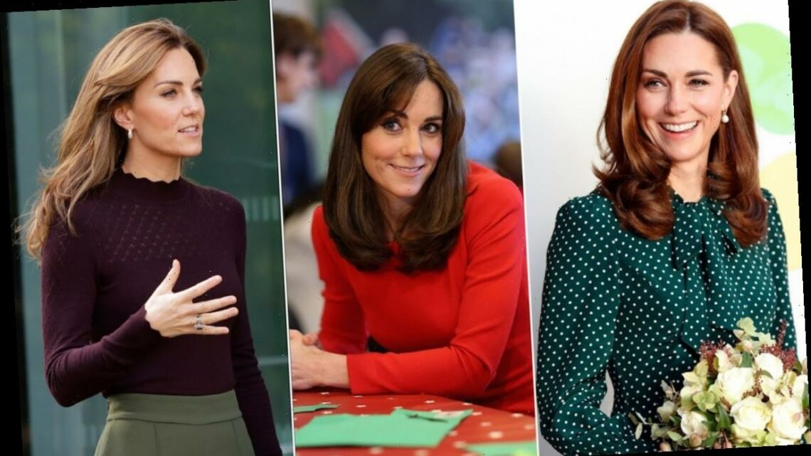Kate Middleton changes her hair colour more than you might think! All her transformations over the years