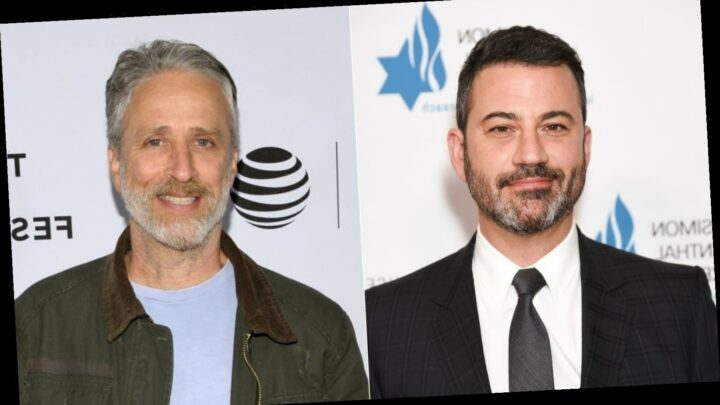 Why Jimmy Kimmel's Comments About Jon Stewart Are Raising Eyebrows
