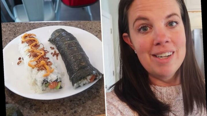 Mom-of-10 shows a week of cooking meals for the entire family – including sushi, 2 whole chickens, and home-grown onions