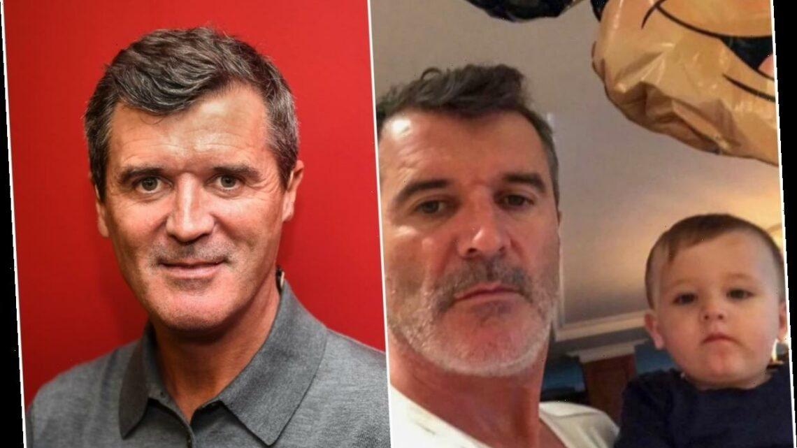 Man Utd legend Roy Keane reveals he has become a proud grandfather as he gives rare glimpse of family in Instagram post