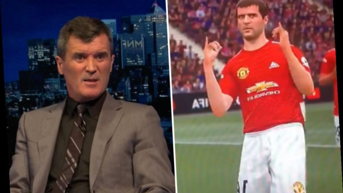 Watch Roy Keane's FIFA 21 character bust out hilarious dance moves Man Utd legend would HATE leaving fans in stitches