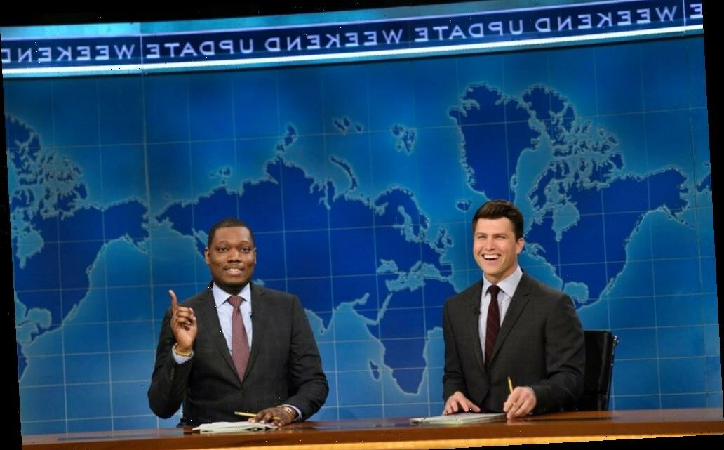 "'SNL': Weekend Update Fires Shots At Marjorie Taylor Greene, ""Former Social Media Influencer"" Donald Trump"
