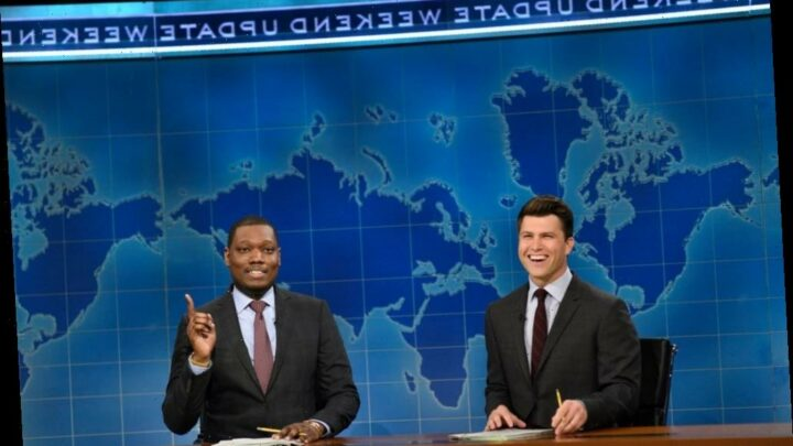 "'SNL': Weekend Update Fires Shots At Marjorie Taylor Greene, ""Former Social Media Influencer"" Donald Trump"