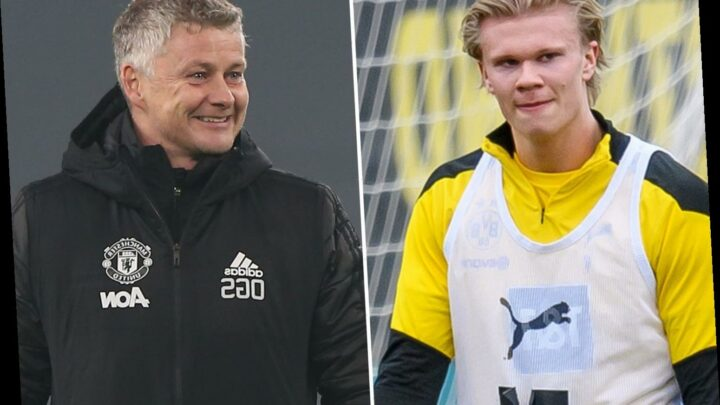 Solskjaer refuses to rule out Man Utd transfer bid for 'top player' Haaland and is keeping tabs on Dortmund ace's career