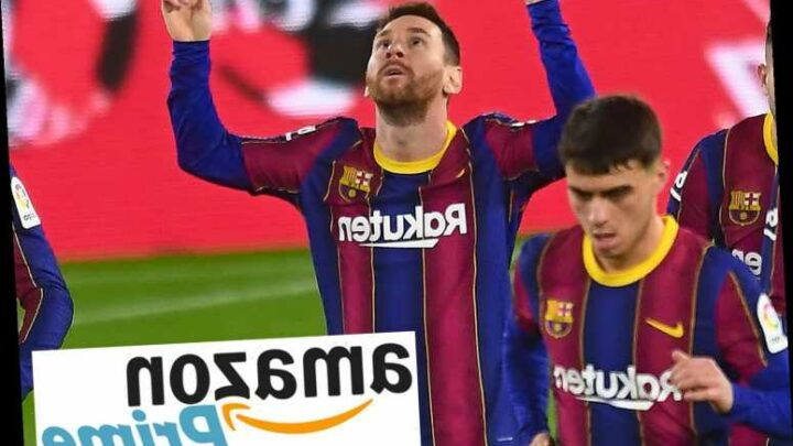 Amazon Prime to show every LaLiga clash until end of 2021/22 season – but fans must pay additional subscriber fee