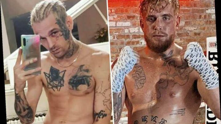 Aaron Carter hits out at Jake Paul after YouTuber criticised boxing fight against Lamar Odom and claims he carries GUN