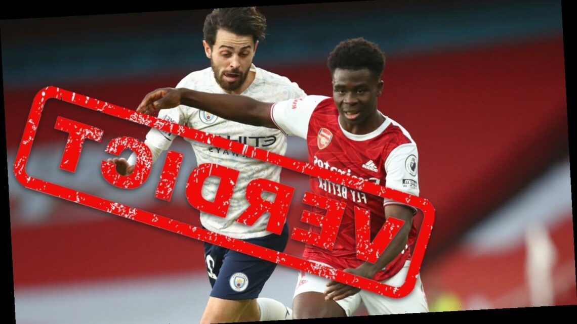 Arsenal verdict: Bukayo Saka a bystander in Man City loss and must prove it against big guns to earn England spot