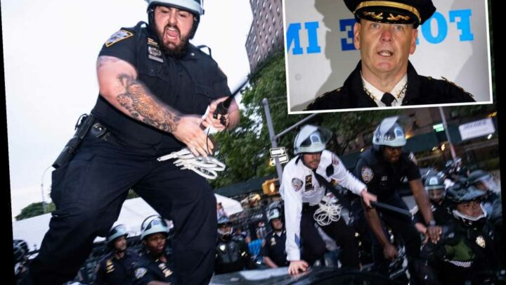 Monahan may be grilled over NYPD's 'aggressive actions' during George Floyd protests
