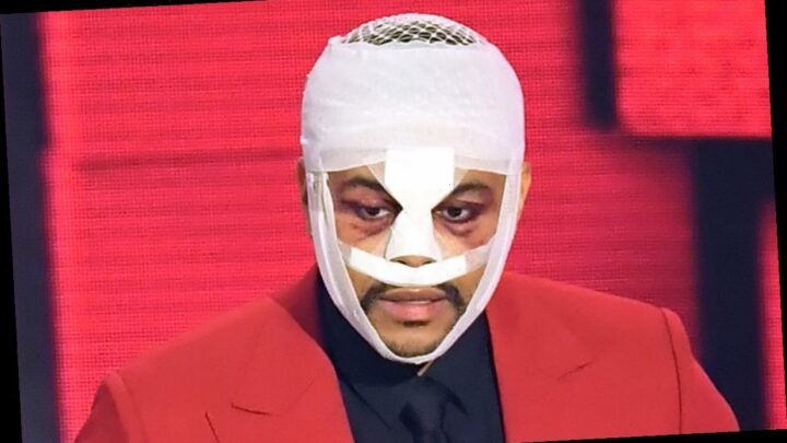 Why Is The Weeknd Wearing Bandages on His Face? Did He Get Plastic Surgery? He Explains!