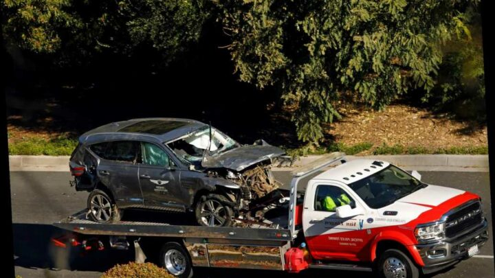 Road where Tiger Woods crashed is frequent site of accidents