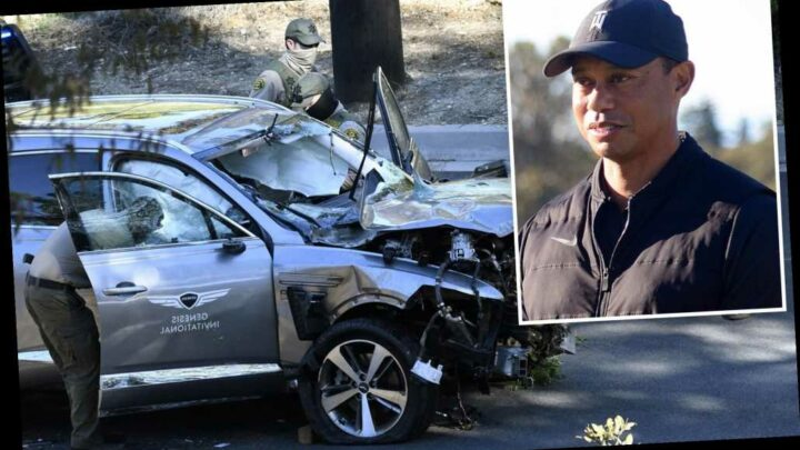 Tiger Woods will not face criminal charges in California car crash