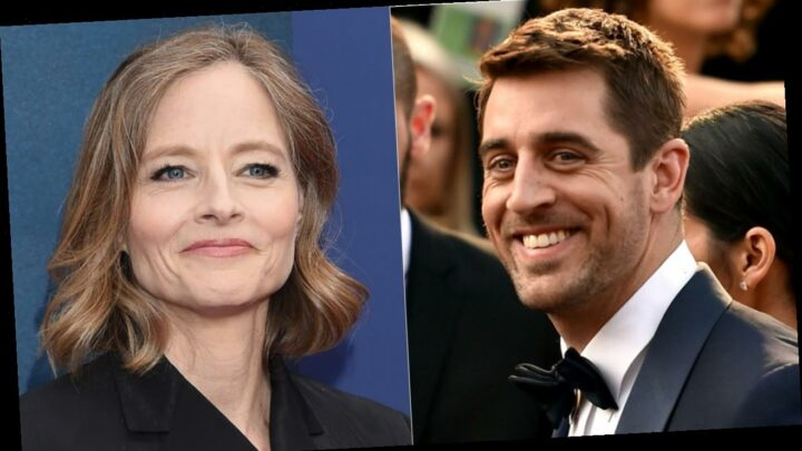 Aaron Rodgers' odd Jodie Foster shout-out suddenly makes sense