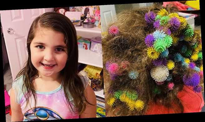 Mom slams Bunchems sticky toys after 150 get stuck in daughter's hair