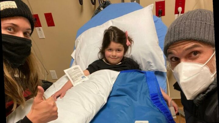 Dave Annable Praises Wife and Daughter for Strength During Hospital Visit for Broken Arm