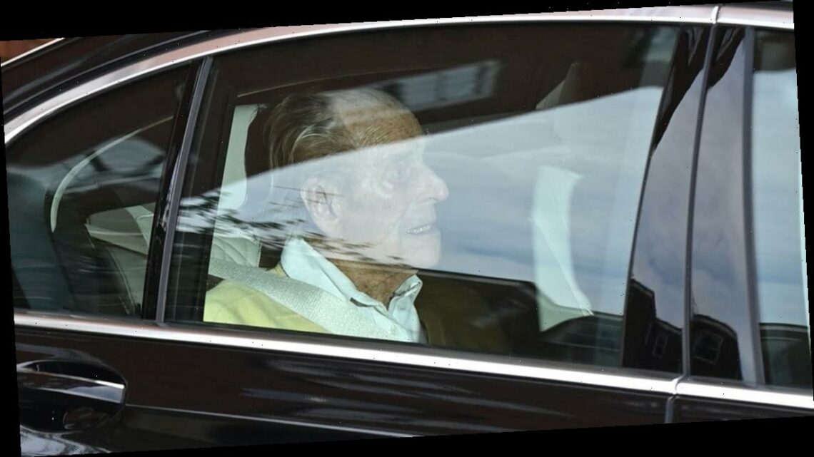 Prince Philip, 99, walks out of hospital after month stay recovering from medical procedure for pre-existing condition