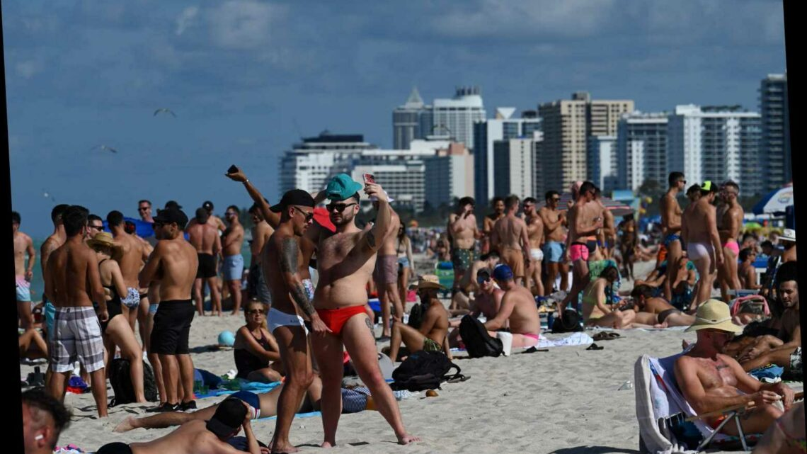 150 spring breakers arrested amid party chaos in Miami Beach