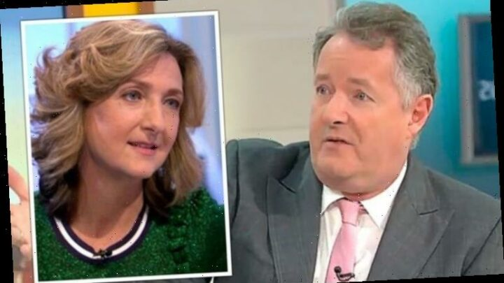 Piers Morgan 'replaced by Victoria Derbyshire' after he quits Good Morning Britain