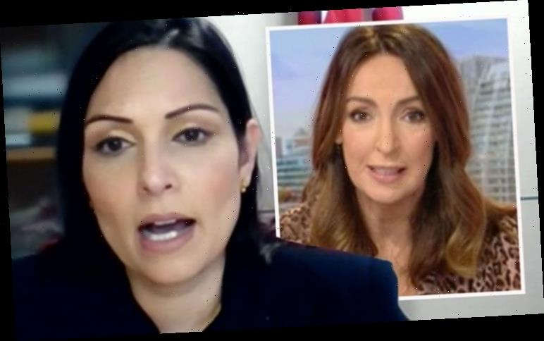 Priti Patel defeated by Sally Nugent in heated protest debate: 'A fundamental difference!'