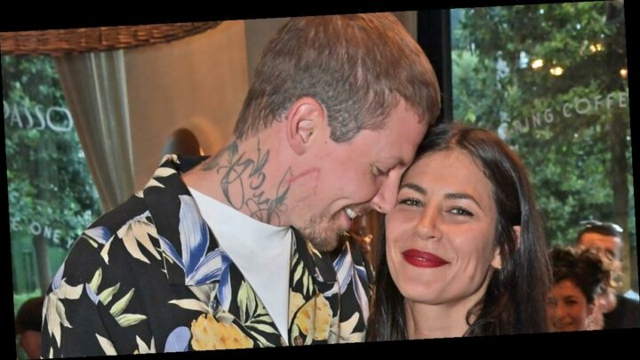 Professor Green becomes dad for first time as girlfriend Karima McAdams gives birth to baby boy early