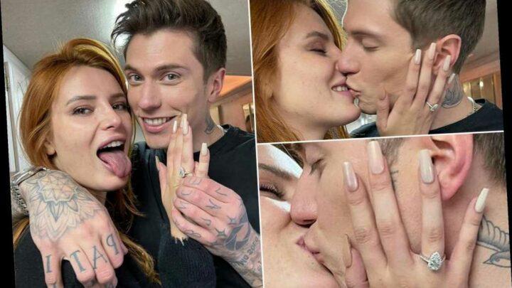 Bella Thorne is engaged to boyfriend Benjamin Mascolo