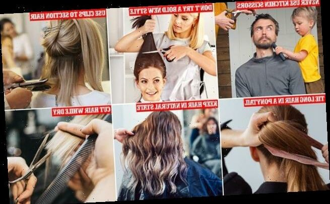 Lee Stafford tells FEMAIL how to cut your own hair in lockdown