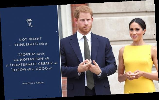 Harry and Meghan: Sussex Royal charity 'under review from watchdog'