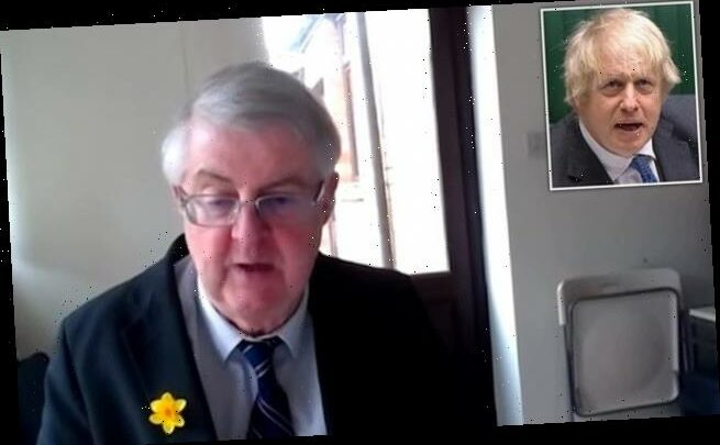 Welsh First Minister Mark Drakeford claims 'the UK is over'