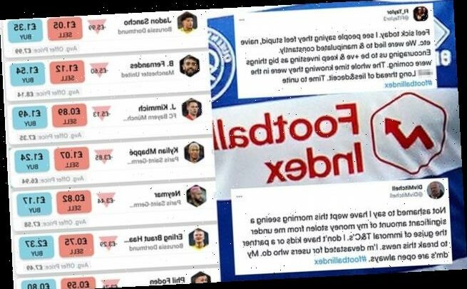 Football Index users disgusted after share prices on platform crashed