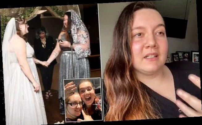 Woman, 23, is in a 'platonic marriage' with her female best friend