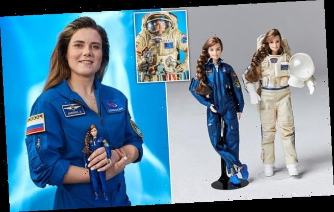 Barbie produce doll inspired by sole Russian cosmonaut