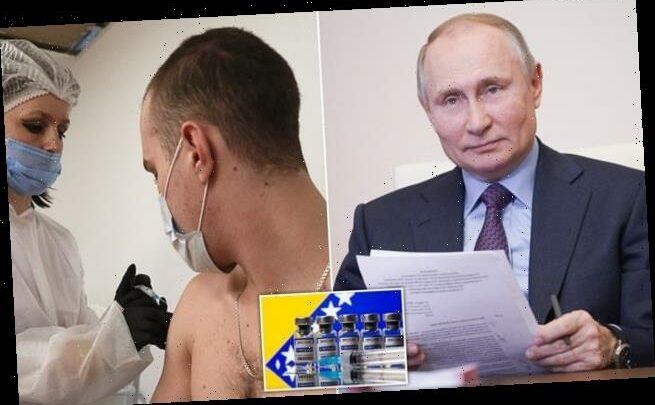 Vladimir Putin will receive Russian-made Covid jab in private tonight