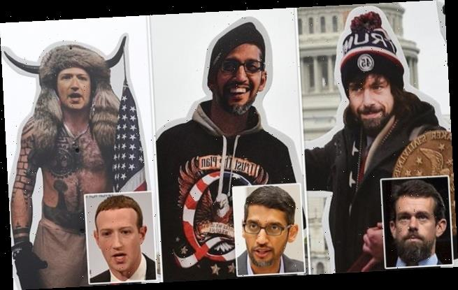 Facebook, Google and Twitter will testify at hearing on disinformation
