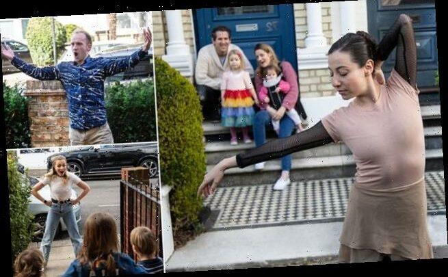 Street theatre company offering doorstep performances during lockdown