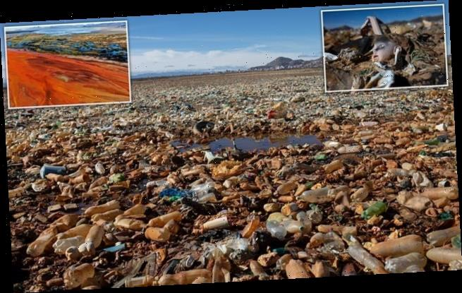 Bolivia's lake of plastic: Waterways do not escape plastic pollution