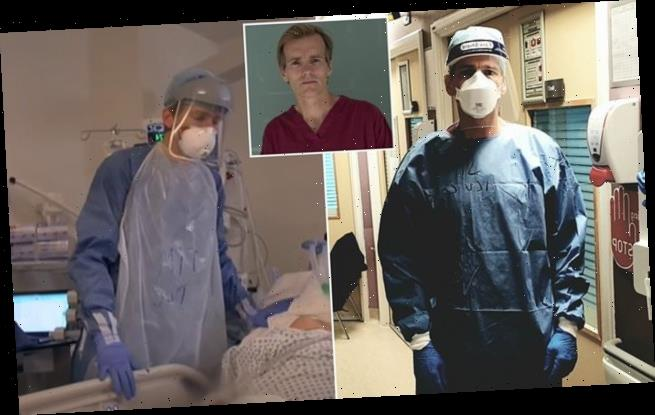 Top ICU doctor reveals Covid left him feeling 'like a junior doctor'