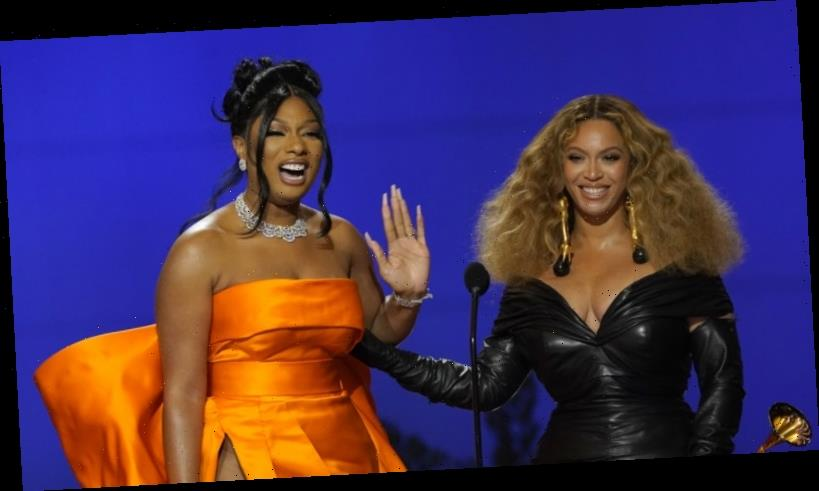 Final clanger mars big Grammys for Beyonce and Megan Thee Stallion