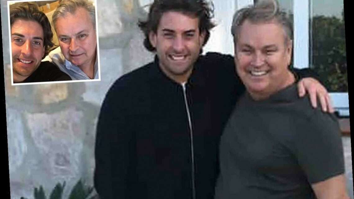 James Argent says he's 'heartbroken and in bits' after the death of best pal Mark Wright's uncle