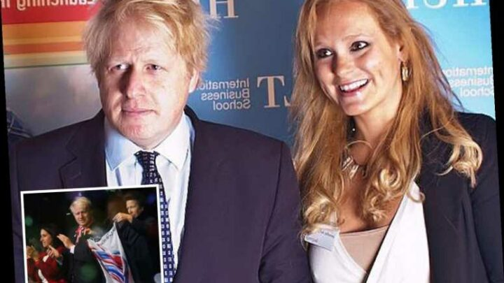 Boris Johnson lost a sock in romp with mistress hours before event with his wife and Royals