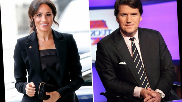 Tucker Carlson slams 'manipulative opportunist' Meghan Markle over tiff with Kate & mockingly calls it 'her 9/11'