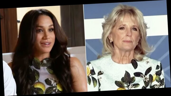Jill Biden Takes Style Inspo From Meghan Markle Right After Tell-All Interview