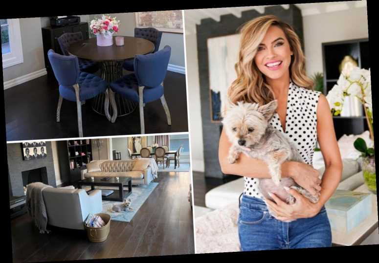 Inside Selling Sunset star Chrishell Stause's Hollywood Hills home after major spring makeover