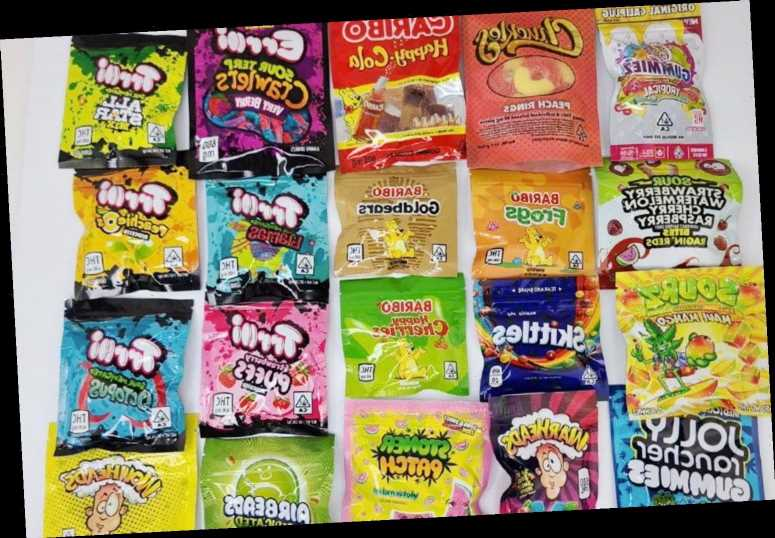 Drug dealers flood Britain with cannabis-laced sweets disguised as Kinder Eggs, Mars Bars and Haribo