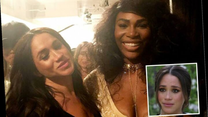 Serena Williams hails 'selfless' pal Meghan Markle for being 'truly noble' by revealing her 'pain and cruelty'