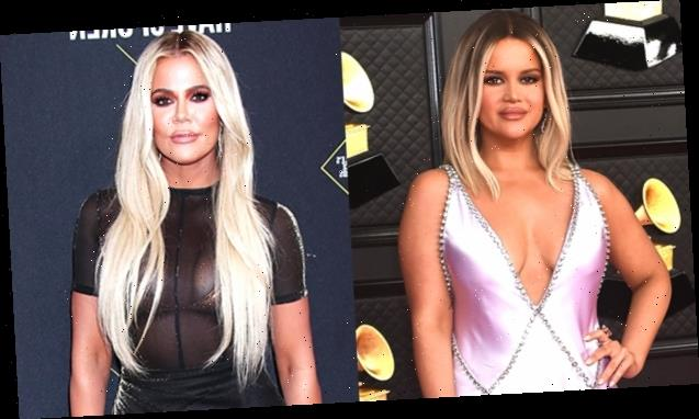 Maren Morris Fans Think She Looks Like Khloe Kardashian's 'Long Lost Twin' At The Grammys