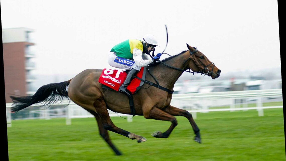 Grand National favourite Cloth Cap in 'grand form' for prep run at Kelso on Saturday