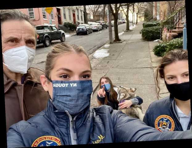 Andrew Cuomo and Kerry Kennedy's daughters stay silent over sex assault scandal after seventh accuser emerges