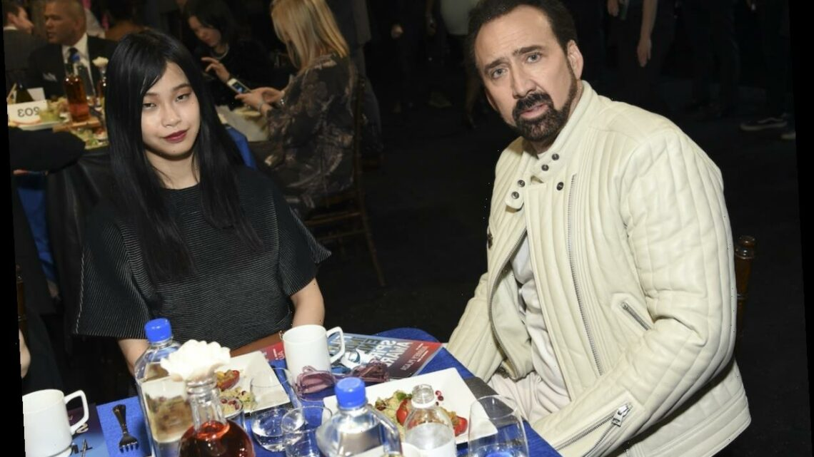 Nicolas Cage Proposed to 26-Year-Old Riko Shibata On FaceTime and Sent Her Black Engagement Ring FedEx