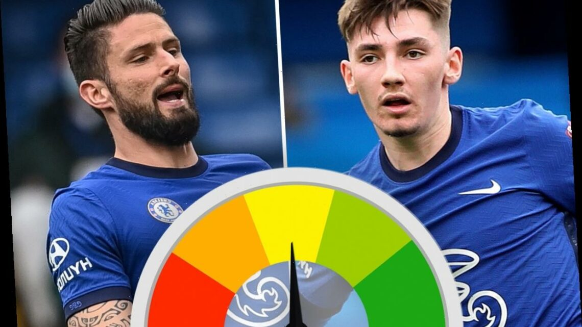 Chelsea player ratings: Gilmour stakes his claim, Chilwell back to form but Giroud looks lost up front
